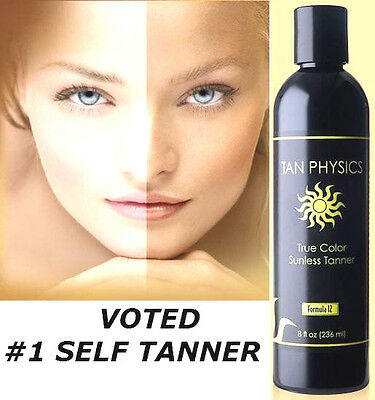 Tan Physics True Color 1 Rated Sunless Self Tanner Tanning Lotion