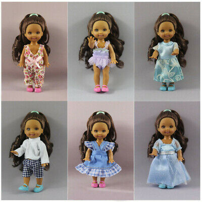 12 PCS  Lovely dress Outfit Clothes  For Little Kelly Doll