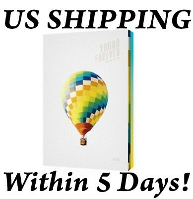US SHIPPING BTS YOUNG FOREVER Special Album Day CD-POSTEROn-etc-Tracking