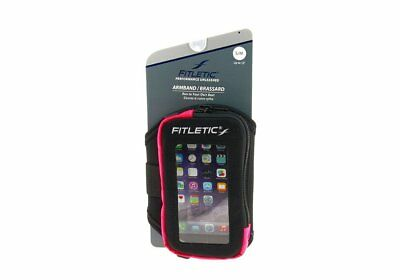 Fitletic Neoprene Armband LXL ARM05 Iphone 5 Galaxy S4 Reflectors RED and BLUE