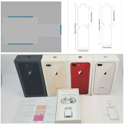 iPhone 8 8 Plus Empty Retail Box - Accessories Option of Box Seal-Screen Seal