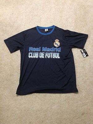 Real Madrid Mens Size Large Soccer Shirt