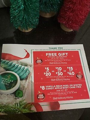 bath and body works coupons