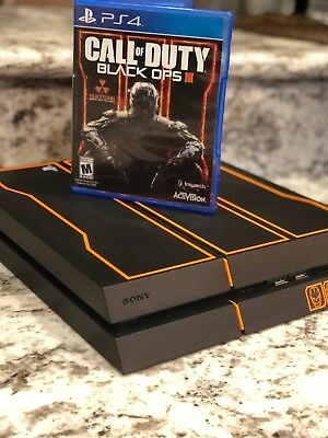 Call Of Duty Black Ops 3 Limited Edition PLAYSTATION 4- Console and Wires ONLY