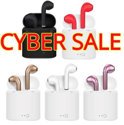 CUSTOM NEW COLORS AirPods Bluetooth Wireless Headset w Case FREE SHIPPING