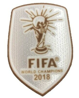 Football Soccer World Cup Champions 2018 France Iron On Embroidered Patch Badge