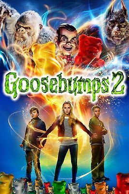 GOOSEBUMPS 2 HAUNTED HALLOWEEN 2018 FACTORY SEALED BRAND NEW