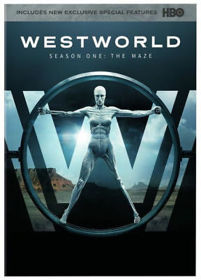 New Sealed Westworld - The Complete First Season One The Maze DVD 1