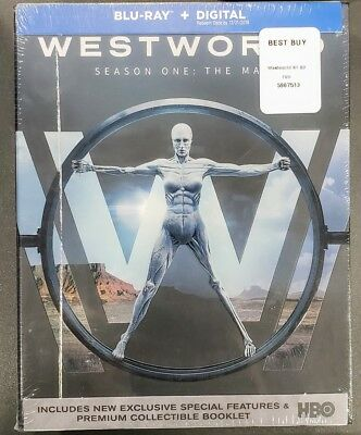 Westworld The Complete First 1 Season One Blu-ray Disc 2017✔☆MINT✔☆NO DIGITAL