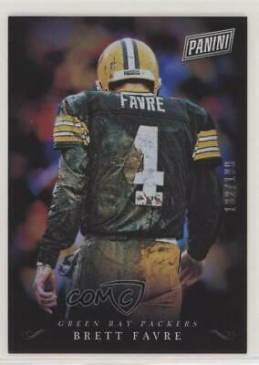2018 Panini Black Friday Collection199 BF Brett Favre Green Bay Packers Card