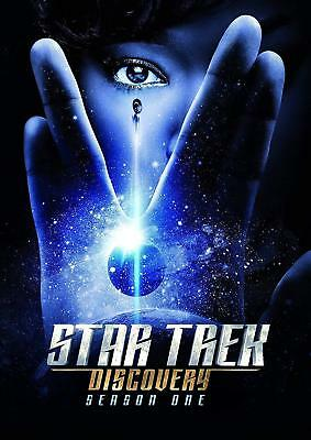 Star Trek - Discovery The First Season one 1 Brand New DVD 4-Disc Set