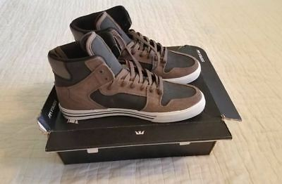 MISMATCHED - 2 LEFT SHOES - MENS 10 - SUPRA VAIDER SKATE SHOES - AMPUTEE
