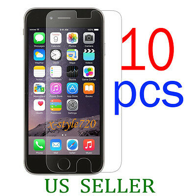 10pcs Full Front Screen Protector Guard Cover Film For Apple iPhone 6 Plus 5-5