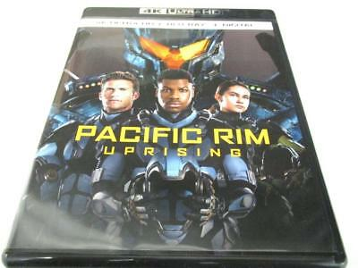 Pacific Rim Uprising Blu-ray 4K UHD - Art-work 1-Disc Only NO CASE