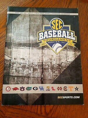 2011 SEC Baseball Tournament Program