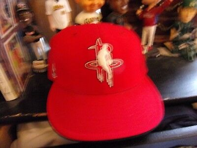 Houston Rockets Fitted Basketball Cap Size Man 7 38 By Reebok