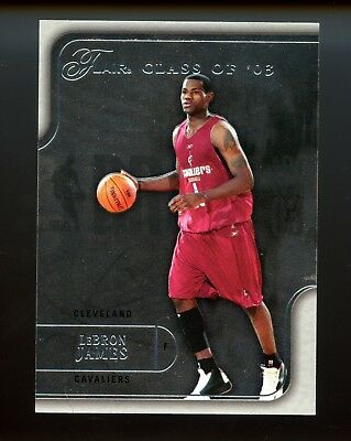 2003 Flair Class of 03 LeBron James RC   d 367500 SSP  LAKERS
