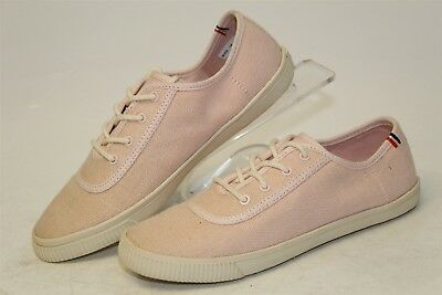 Clare V- x Toms Womens 6 NEW Pink Canvas Low Top Fashion Sneakers Shoes mn