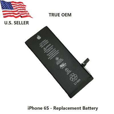 OEM Battery for iPhone 6S Battery 1715mAh Genuine Replacement Battery wadhesive