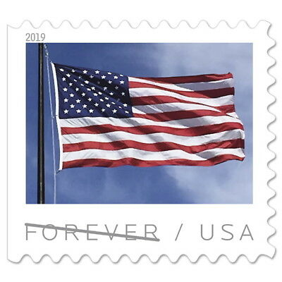 USPS New US Flag 2019 Booklet of 20