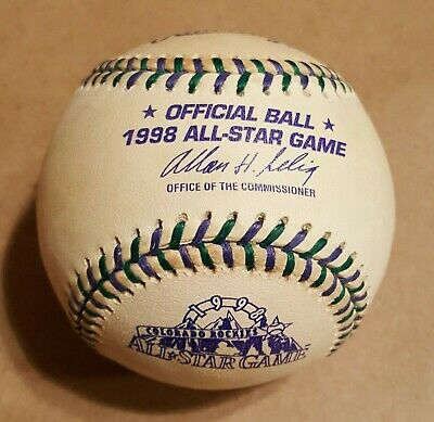 Mark Mcgwire and Sammy Sosa Signed Rawlings 1998 All-Star Game Baseball