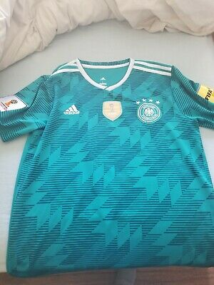 2018 Adidas Germany World Cup Away Jersey Men's Large