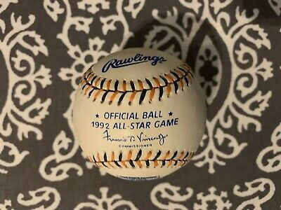 1992 All Star Game Rawlings Official Collectors Edition Baseball