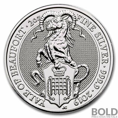 2019 Silver Great Britain Queens Beasts The Yale - 2 oz