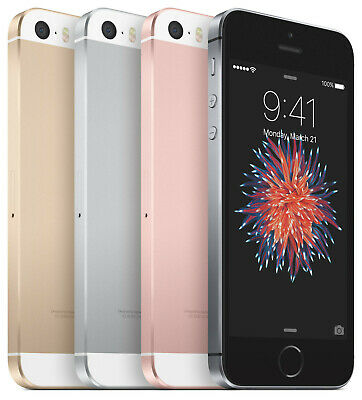 Apple iPhone SE - 16GB 32GB 64GB 128GB - AT-T T-Mobile GSM Unlocked Smartphone