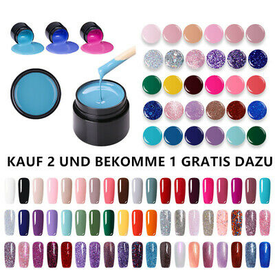 LEMOOC 5ML NAGEL GELLACK SOAK OFF GEL UV NAGELLACK NAIL UV GEL POLISH TOP COAT
