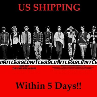 US SHIPPING NCT127-NCT 127 LimitlessRandom CD-Book-PosterOn-Card-etc-Gift