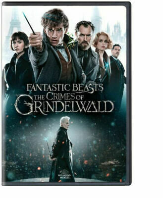 Fantastic Beasts The Crimes of Grindelwald 2-Disc DVD 2019 Bonus Disc Included