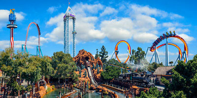 Knotts Berry Farm 1 day General Admission ticket Knotts KBF FREE SHIPPING