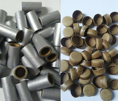 Pyro Tube Silver Salute 58 x 1-12 with paper plugs 2550 Firework