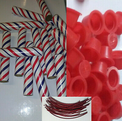 Pyro Tube Supplies 12 Stick 34 x 6 with plugs 612 Firework Salute