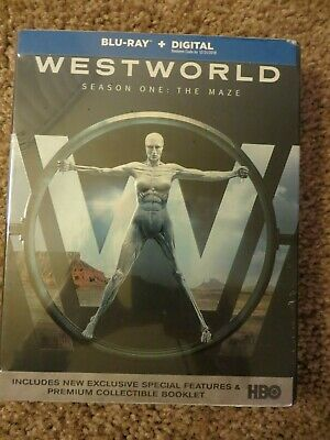 Westworld The Complete First Season Blu-ray Disc 2017 New but expired code