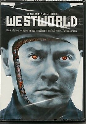 Westworld - DVD - Widescreen - Yul Brynner - James Brolin - New and Sealed