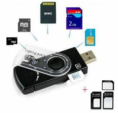 USB SIM Card Reader Editor SMS Backup GSM  CDMA -CD Deleted Text Recovery Micro