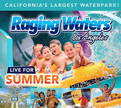 RAGING WATERS LOS ANGELES TICKETS 29-99 A PROMO DISCOUNT CODE