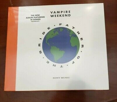 Father of the Bride by Vampire Weekend Audio Brand New Factory Sealed CD