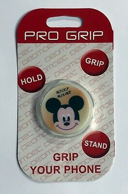 PRO GRIP Collapsible Grip - Stand for Phones and Tablets - MICKY MOUSE