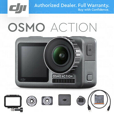 DJI Osmo Action 4K HDR Video Camera RockSteady Stabilization DUAL SCREENS