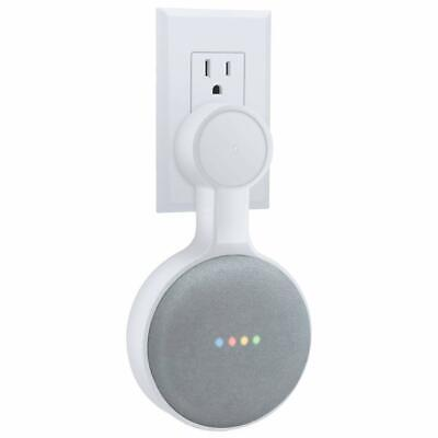 OUTLET WALL MOUNT HOLDER for GOOGLE HOME MINI SPAVE SAVING ACCESSORIE NEW