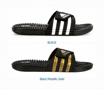 Adidas Adissage Adjustable Mens Slides Slippers Sandals House Shoes