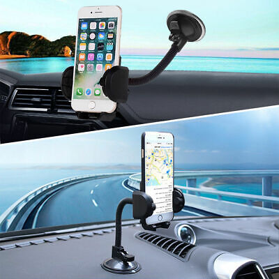 Universal Car Phone Holder 360° Suction Cup Mount Holder Car Windshield Stand