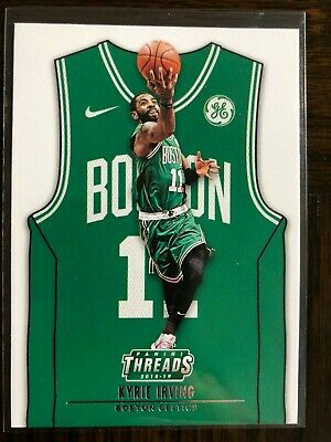 Kyrie Irving 2018-19 Threads Away Jersey Parallel Card 173 SP BOSTON CELTICS