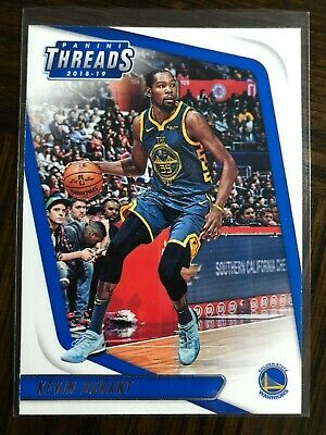 Kevin durant 2019 Panini Threads 96 Warriors