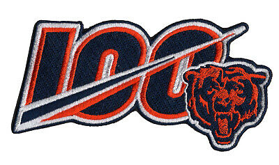 🏈NEW 5 2019 CHICAGO BEARS 100th Anniversary Iron-on NFL Football Jersey PATCH
