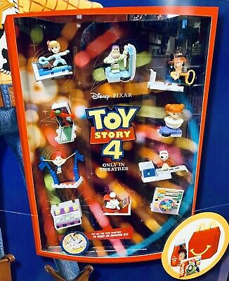 2019 McDONALDS TOY STORY 4 HAPPY MEAL TOYS PICK YOUR OWN ALL 10 CHARACTERS