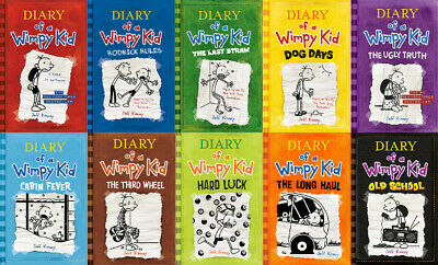 Diary Of A Wimpy Kid 10 BOOK COLLECTION PDF EPUB KINDLE
